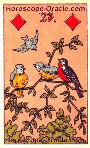 Today's horoscope Gemini the birds