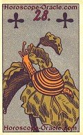 The Snail, meaning of Lenormand Horoscope Card