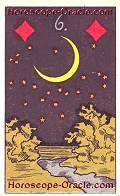 The Moon, meaning of Lenormand Horoscope Card