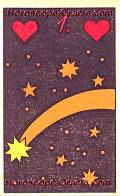 The Star, meaning of Lenormand Horoscope Card