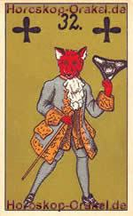 The Fox, meaning of Lenormand Horoscope Card
