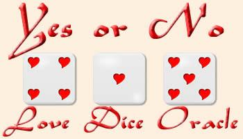 Yes or No Love Dice Oracle
