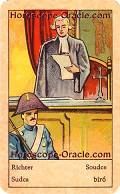 Fortune Tarot the judge meaning