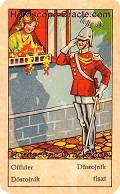 Fortune Tarot the officer meaning