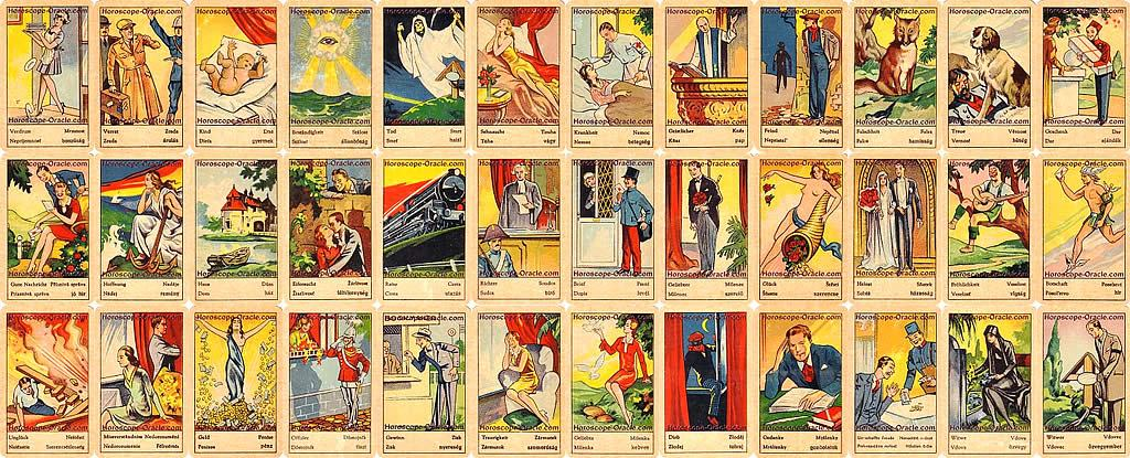 Meaning ancient Fortune Telling Cards