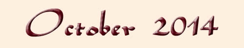 Monthly Horoscope October 2014
