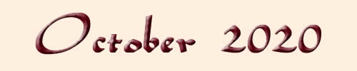 Monthly Horoscope October 2020