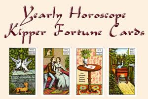 Yearly Horoscope 2012 Kipper Fortune Crads